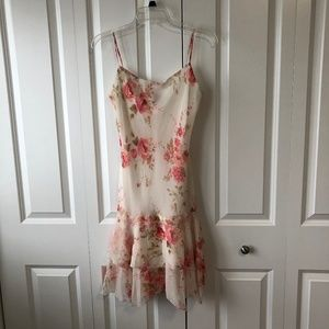 XOXO PINK FLORAL DRESS